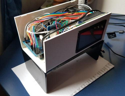 Arduino GLCD Clock